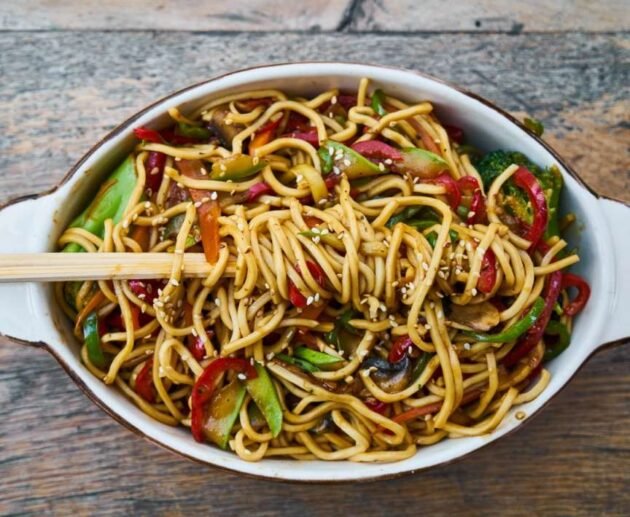 how to make veg noodles in home