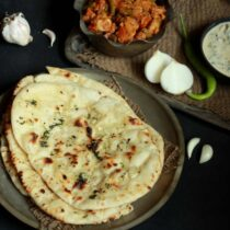 how to make butter naan at home