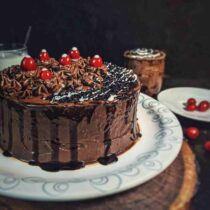 Chocolate cake recipe without oven