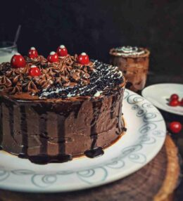 Chocolate Cake recipe without oven – (Eggless Cake)